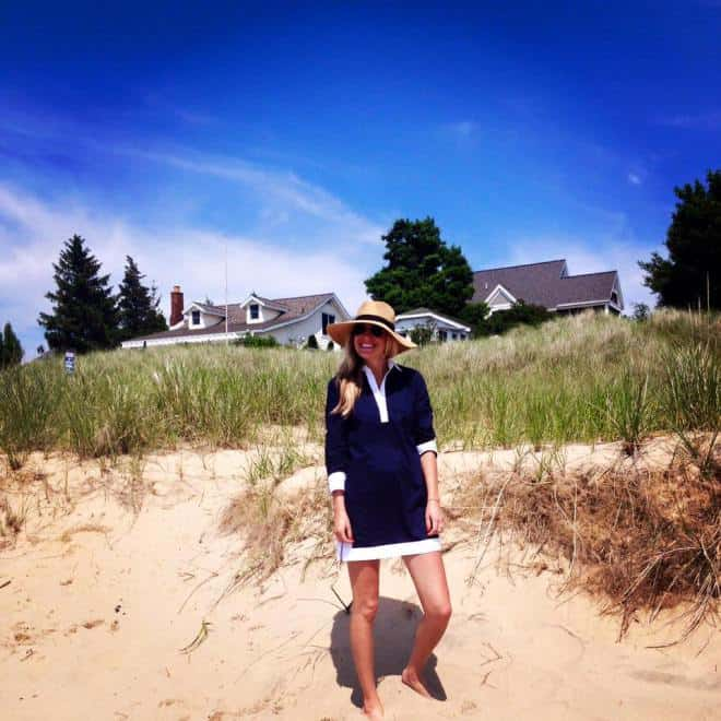 About Dana, chief editor of Top Detroit lifestyle blog, House of Navy