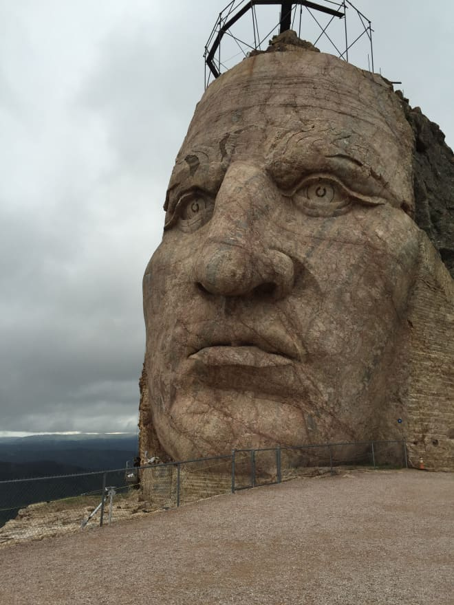 Crazy Horse from the Top