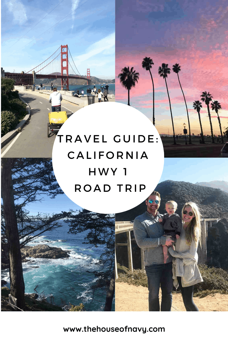 california travel guide collage