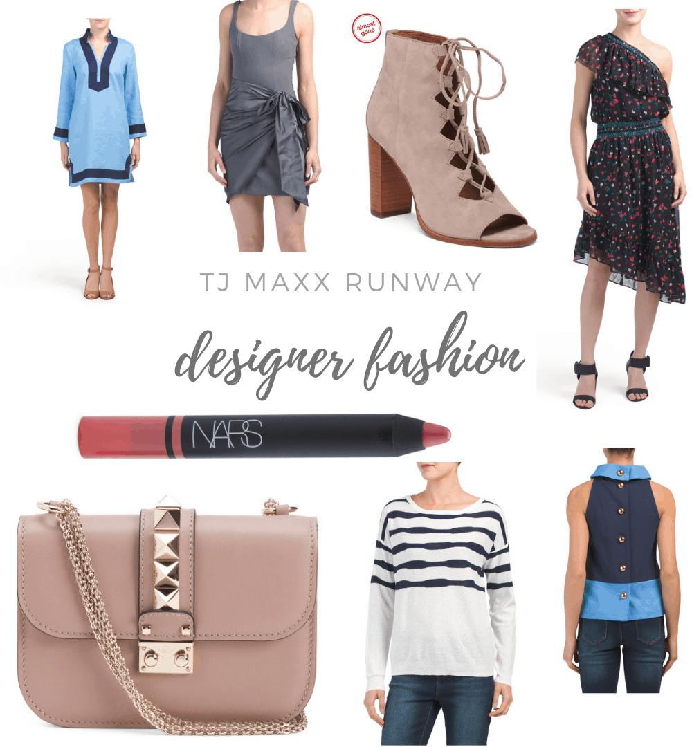 TJ Maxx Runway reviewed by top Michigan fashion blog, House of Navy