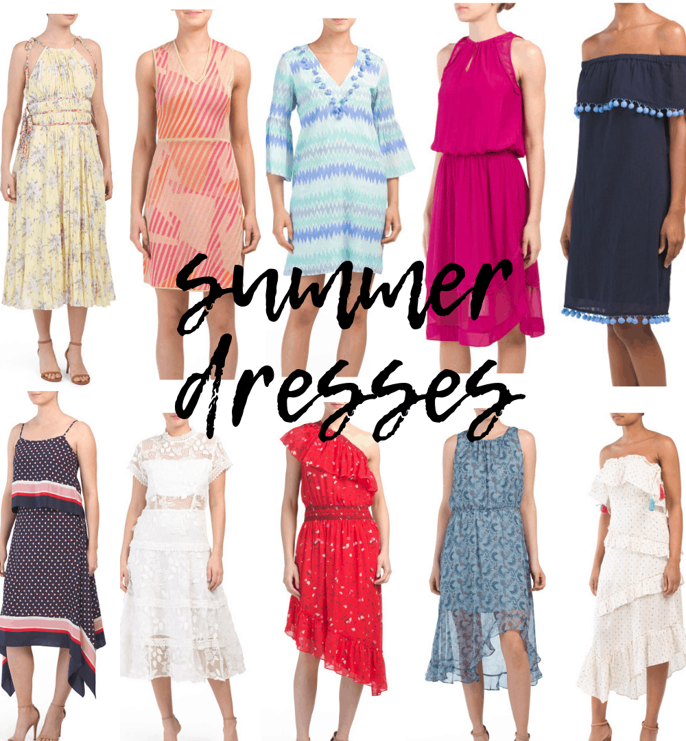 Cute TJ Maxx Summer Dresses for Every Occasion featured by top Michigan fashion blog, House of Navy
