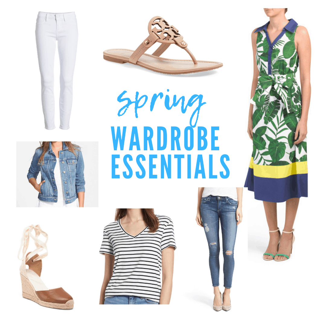 Fashion: Spring Wardrobe Essentials featured by top MI life and style blogger, The House of Navy