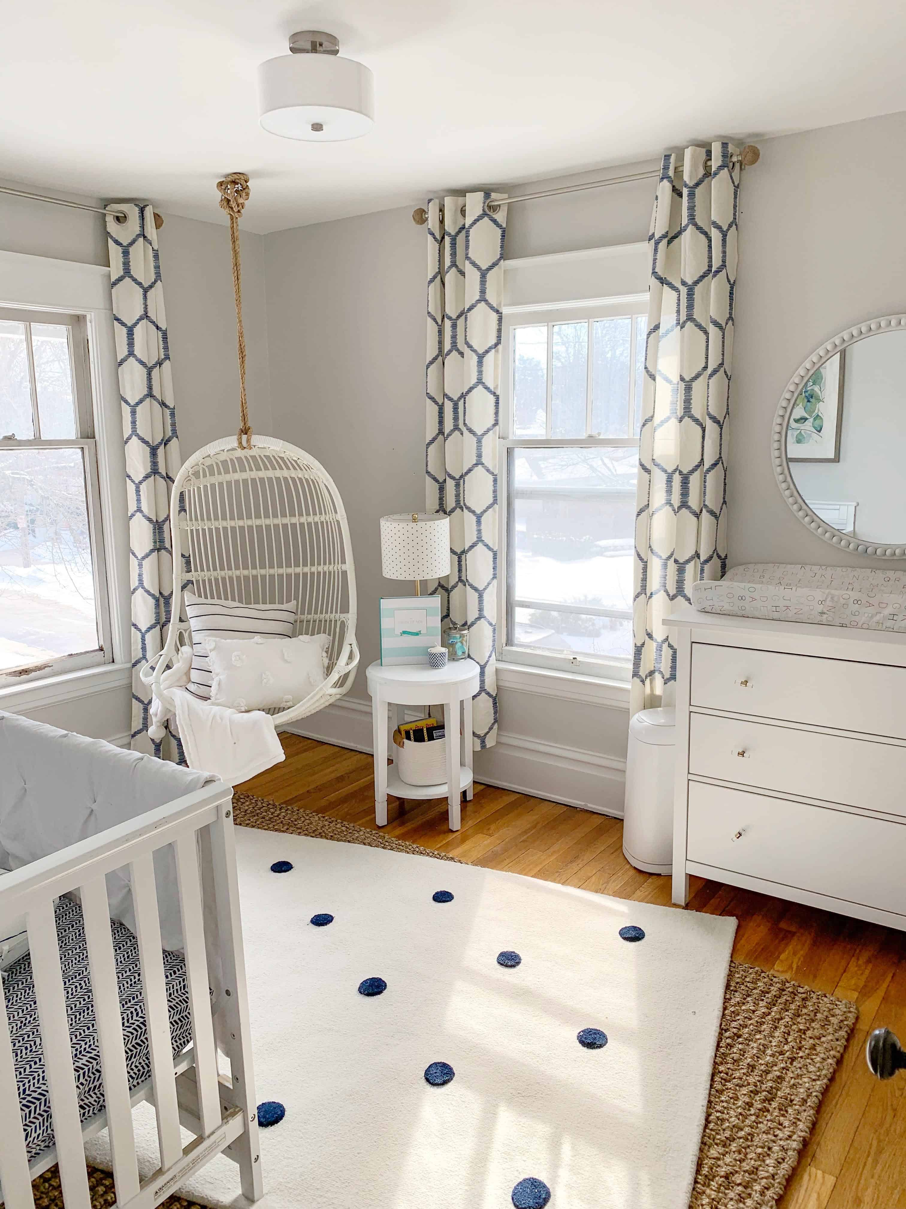 Nautical Nursery Reveal The House Of Navy