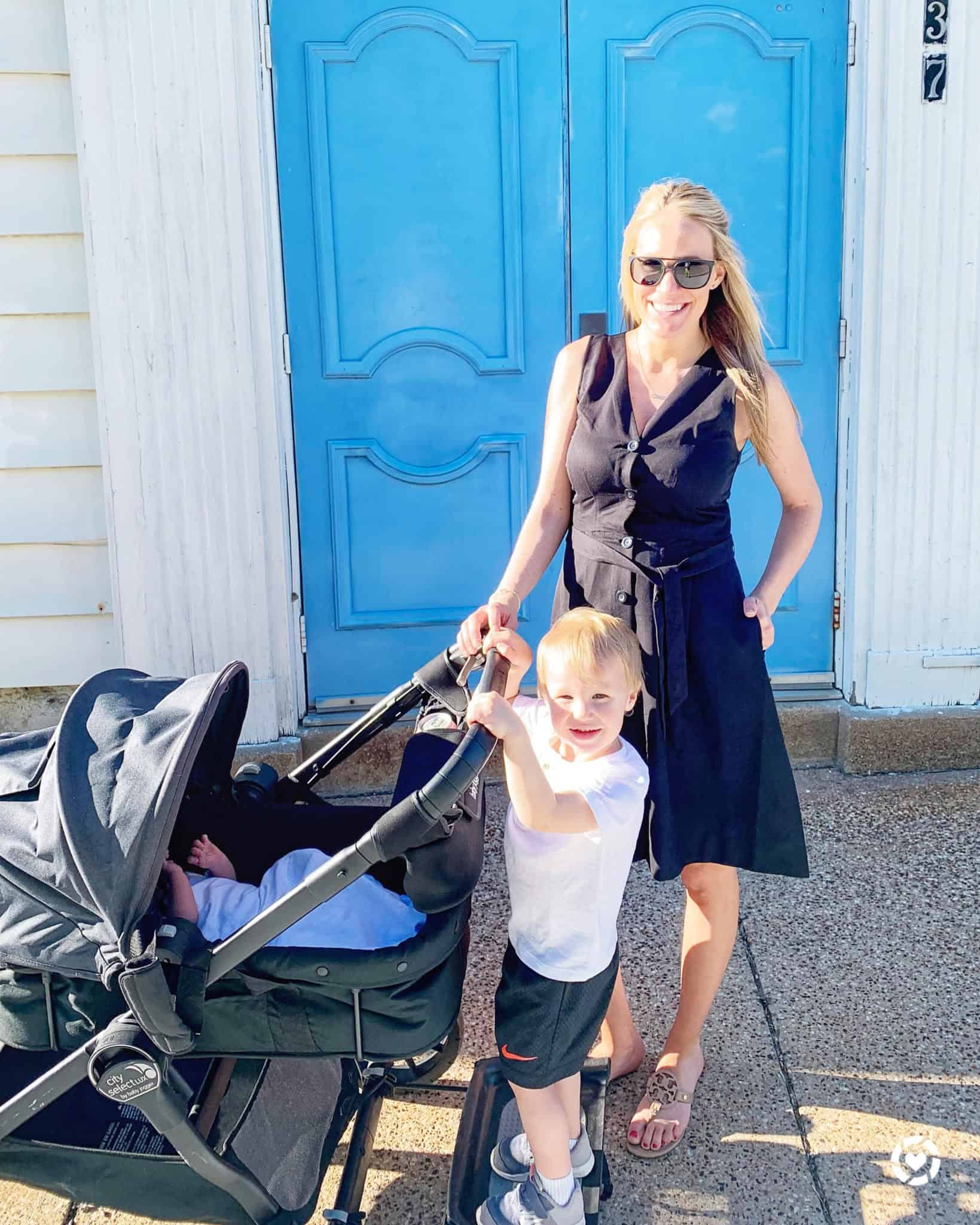 Top Michigan lifestyle blog, House of Navy. shares their thoughts on Working Full Time After Two Kids