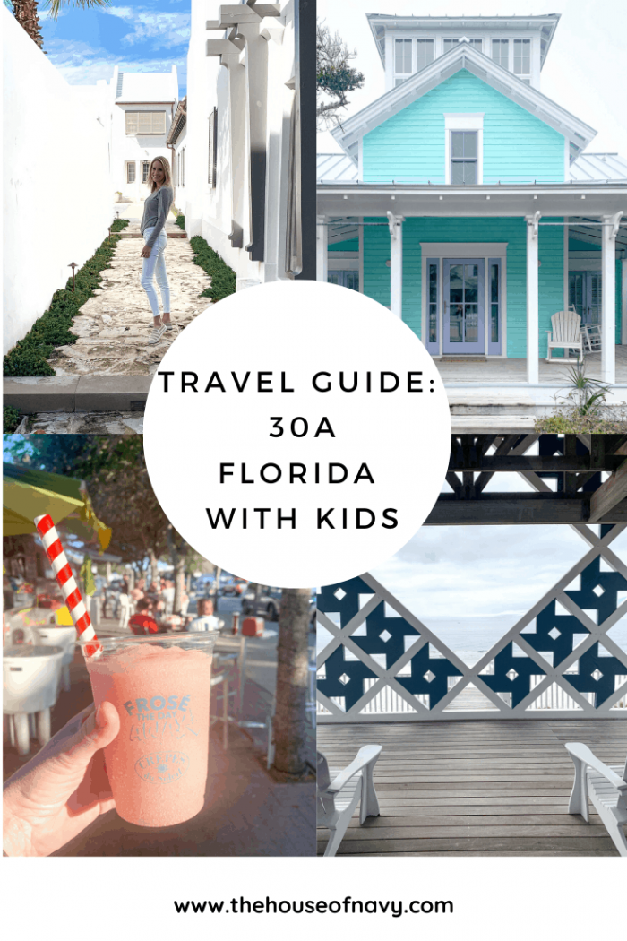 The Ultimate 30A Travel Guide for Families featured by top US travel blog, House of Navy