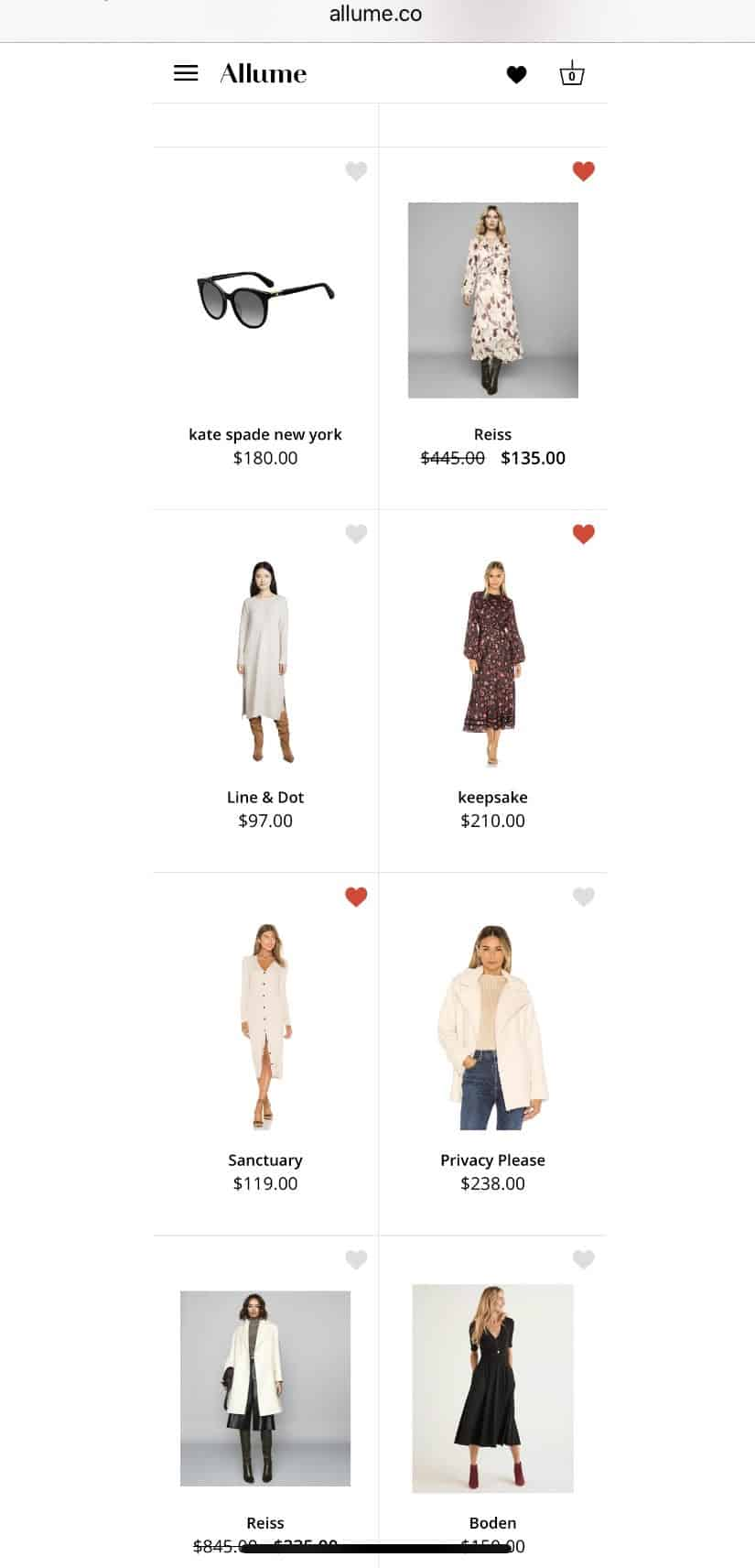 Allume Style Service Review + Promo Code featured by top MI life and style blogger, The House of Navy: image of shopping images of lookbook