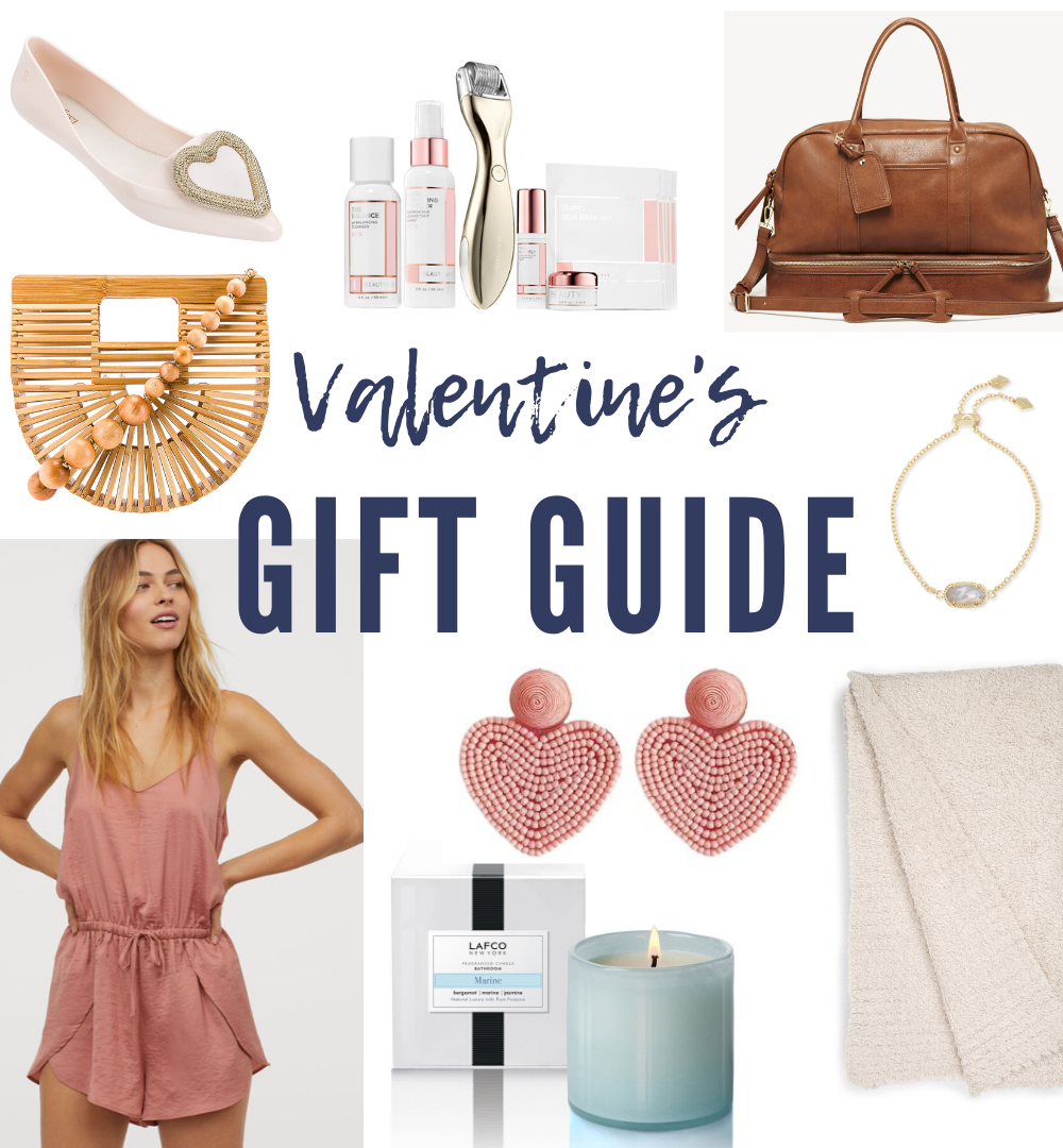 collage of valentine's day gift ideas