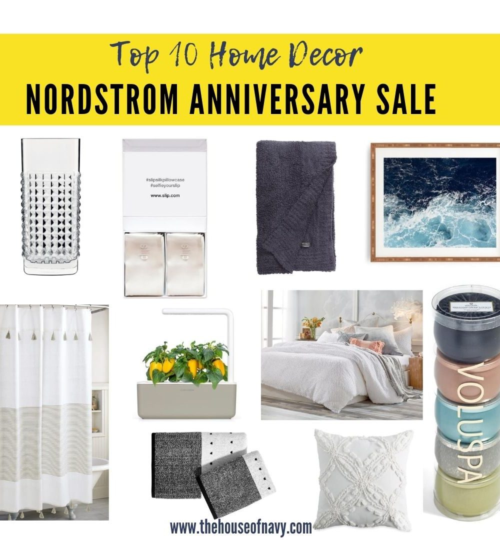 Top 10 Home Decor Picks to Shop During the Nordstrom Anniversary Sale featured by top Detroit life and style blogger, House of Navy