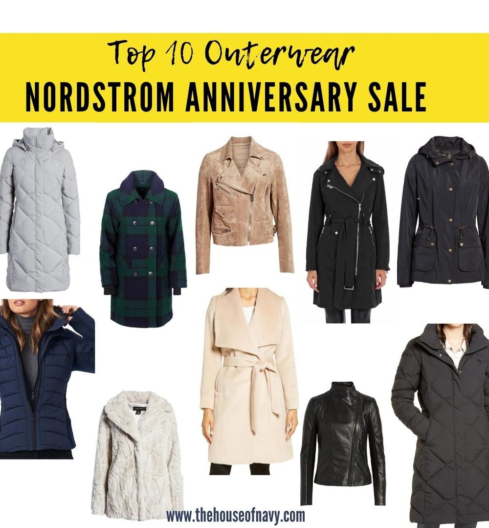 Nordstrom anniversary sale: best fall coats and jackets featured by top Detroit fashion blogger, House of Navy