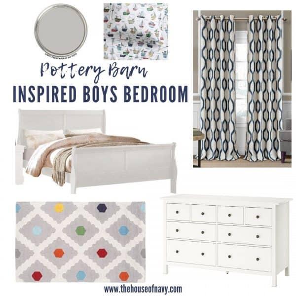 Cute Pottery Barn Boys Bedroom Ideas House Of Navy