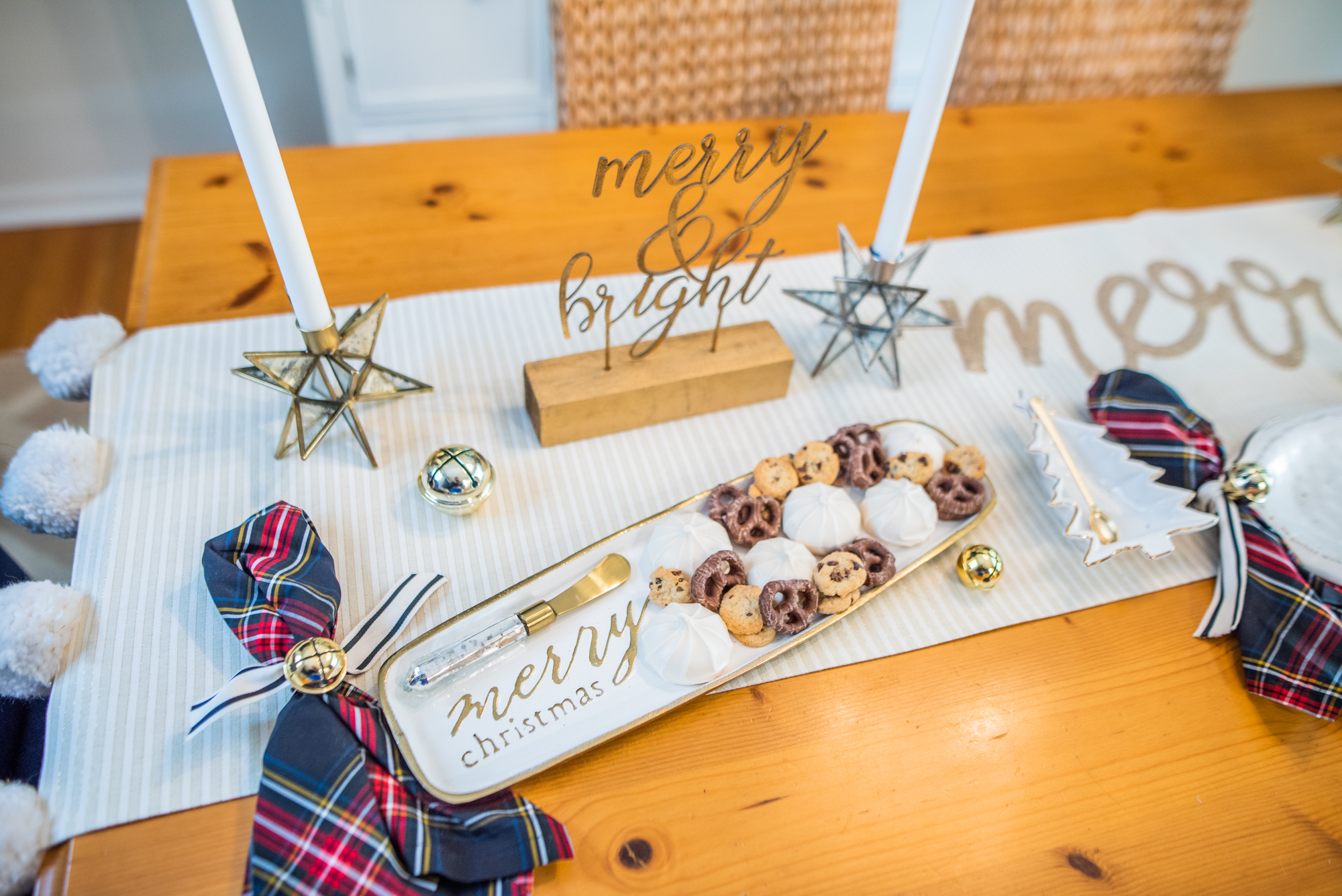 photo of holiday entertaining tablescape