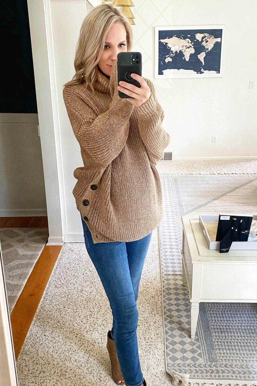 tj maxx runway mara hoffman sweater fall style